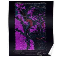 USGS Topo Map Washington State WA Loomis 242060 1956 62500 Inverted Poster