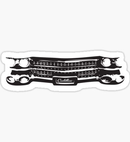 1959 Cadillac Grille Sticker