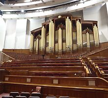 Organ at LDS Tabernacle by Joseph Barney