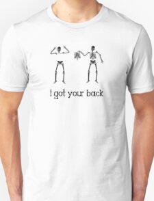 I Got Your Back, Skeleton Humor T-Shirt