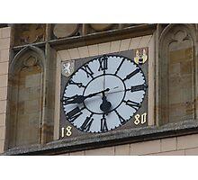 Another Czech Clocks Photographic Print