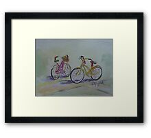 Another Girlie Duo Framed Print