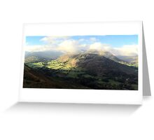 Patterdale in the Lake District National Park, UK Greeting Card