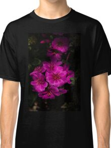 A Vivid Succulent Bouquet in Bold Pink and Fuchsia Classic T-Shirt