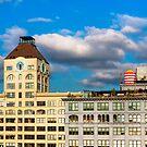 Brooklyn Skyline - DUMBO Lofts by Mark Tisdale