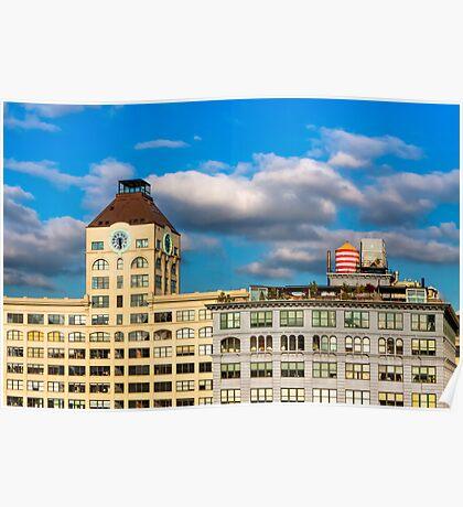Brooklyn Skyline - DUMBO Lofts Poster
