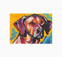 Rhodesian Ridgeback Bright colorful pop dog art Unisex T-Shirt