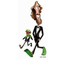 Steppin' Out with Jim and Kermit Photographic Print