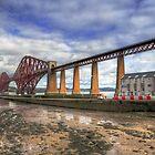 Bridge and RNLI by Tom Gomez