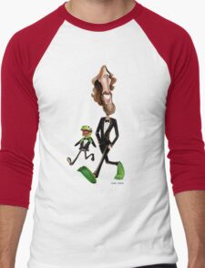 Steppin' Out with Jim and Kermit Men's Baseball ¾ T-Shirt