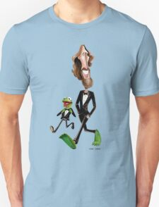 Steppin' Out with Jim and Kermit Unisex T-Shirt