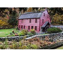 Gilbert Stuart Birthplace and Mill Photographic Print
