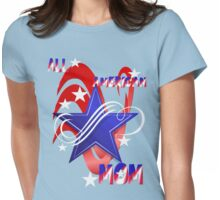 An American Mom Womens Fitted T-Shirt