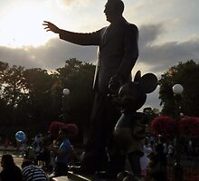 Walt Disney's Silhouette by Clinkz