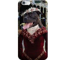 Staffordshire Bull Terrier Art - Elegant company in a tavern iPhone Case/Skin