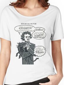 Poe's Cat Women's Relaxed Fit T-Shirt