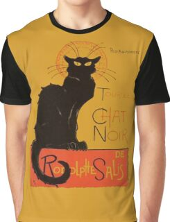 Tournee Du Chat Noir - After Steinlein Graphic T-Shirt