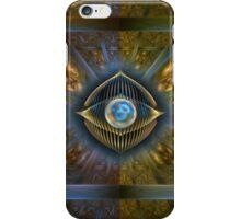 A Cyborgs meditation iPhone Case/Skin