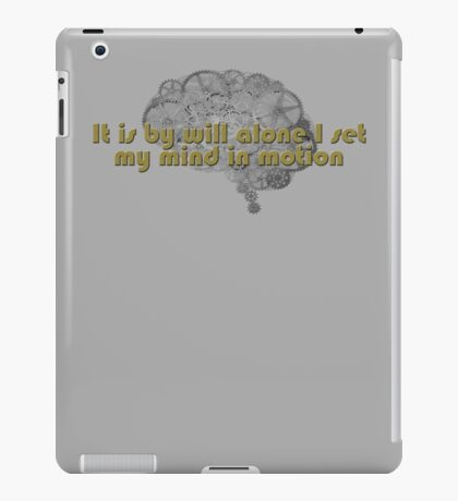Mentat mantra iPad Case/Skin