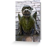 A wicked smile Greeting Card