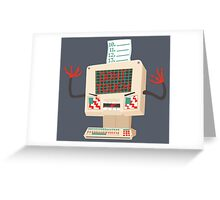 DON'T TOUCH ME! Greeting Card