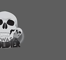 He was a soldier skulls Malazan army insignia motif by jazzydevil