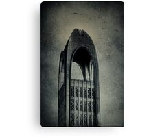 Westminster Abbey Tower Canvas Print