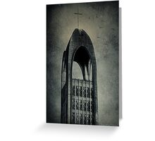 Westminster Abbey Tower Greeting Card