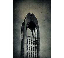 Westminster Abbey Tower Photographic Print