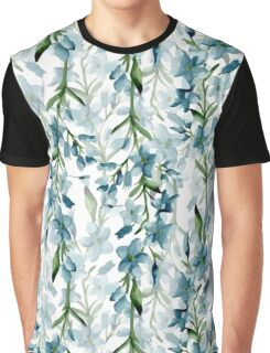 Blue branches Graphic T-Shirt
