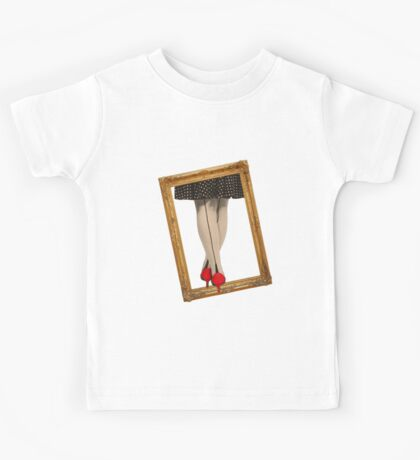Hot Shoes - Red! Kids Tee