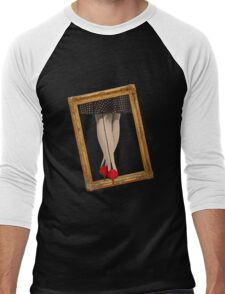 Hot Shoes - Red! Men's Baseball ¾ T-Shirt