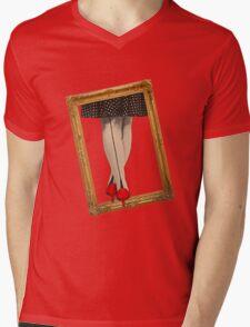 Hot Shoes - Red! Mens V-Neck T-Shirt