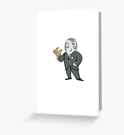 Bioshock Incinerate Guy 2 Greeting Card
