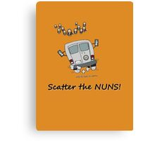Scatter the nuns Canvas Print