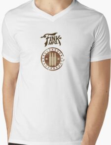 Fink Manufacturing Mens V-Neck T-Shirt