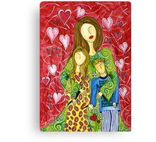 Mother's Heart Garden ~ it never ends Canvas Print