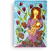 Mother's Arms ~ always open for a hug Canvas Print