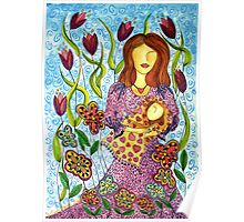 Mother's Arms ~ always open for a hug Poster