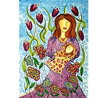 Mother's Arms ~ always open for a hug Photographic Print