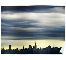 New York City Sky Poster