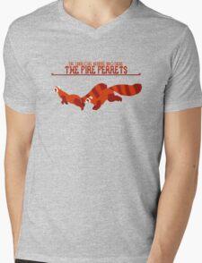 The Fire Ferrets Mens V-Neck T-Shirt