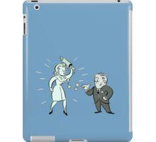 Winter Blast advert iPad Case/Skin
