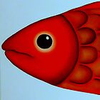 Red Fish Head by Georgie Greene