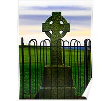 High Cross at the Hill of Tara Poster