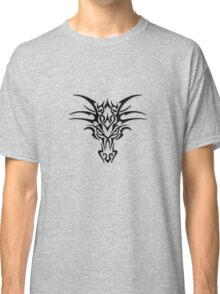 Dragon face brand - Black  Classic T-Shirt