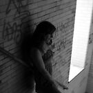 Self Portrait- Abandoned Asylum New York  by MJD Photography  Portraits and Abandoned Ruins