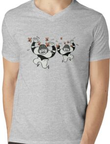Insect Swarm advert Mens V-Neck T-Shirt