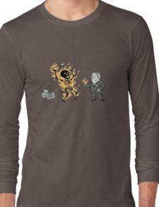 incinerate advert Long Sleeve T-Shirt