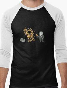 incinerate advert Men's Baseball ¾ T-Shirt